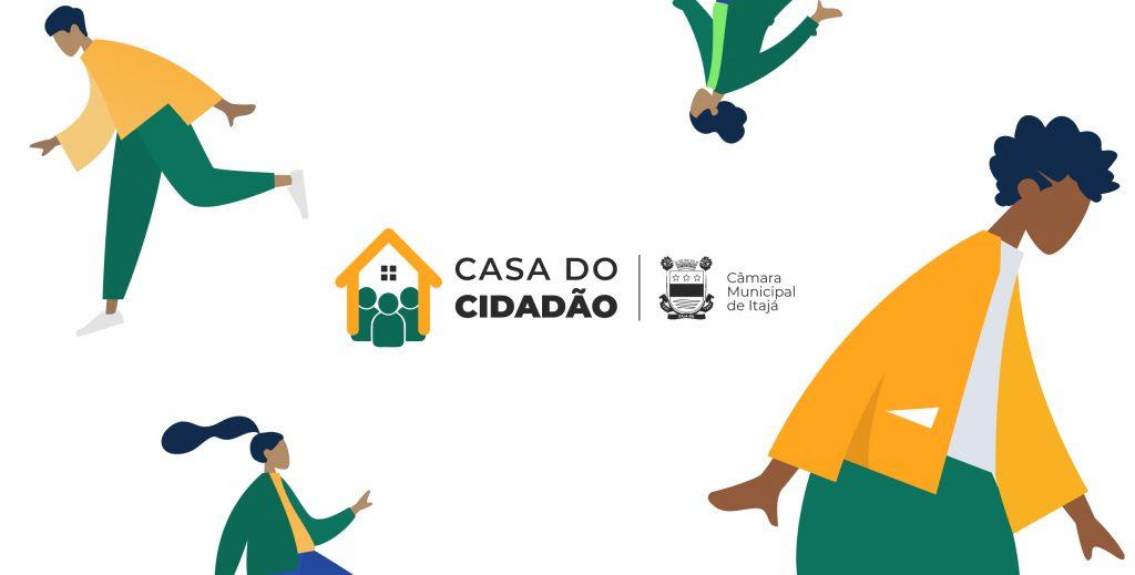 Marca institucional da Casa do Cidadão
